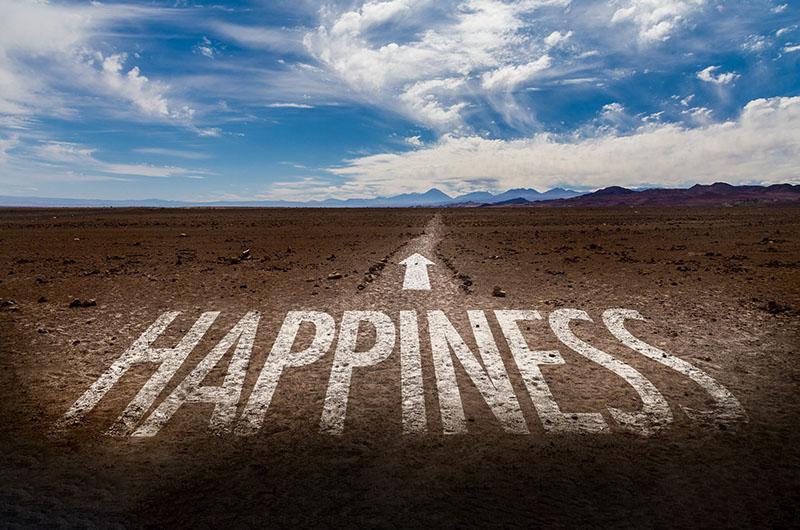 幸せへと続く道